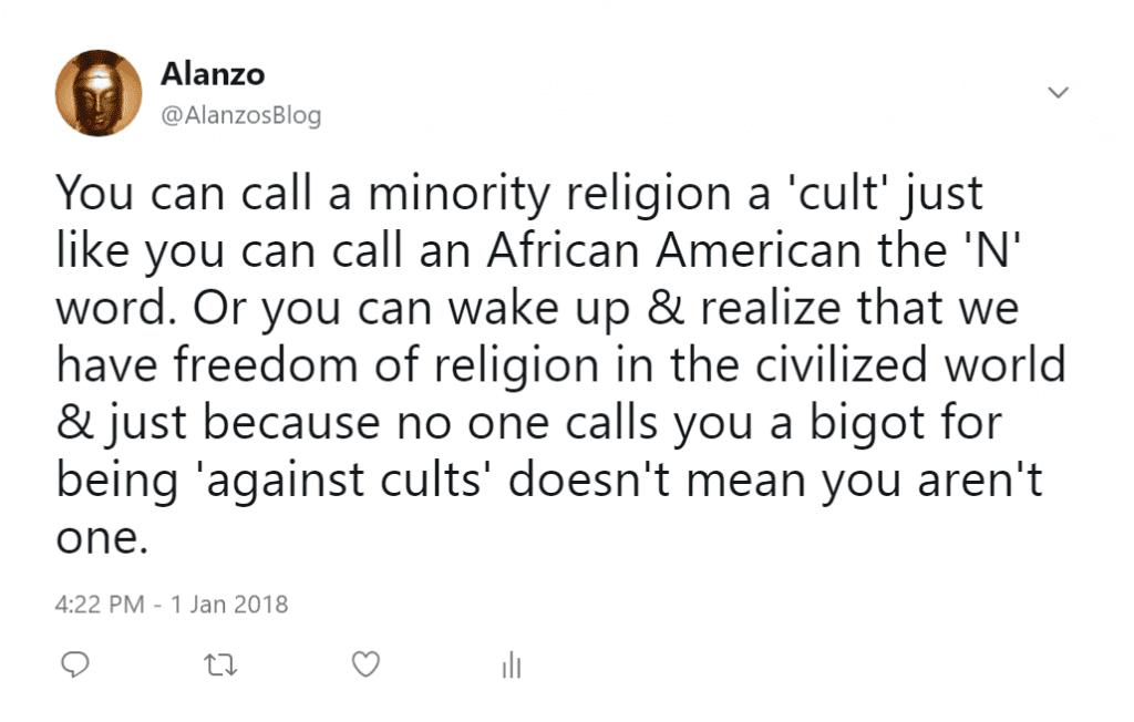 Cults in 2018