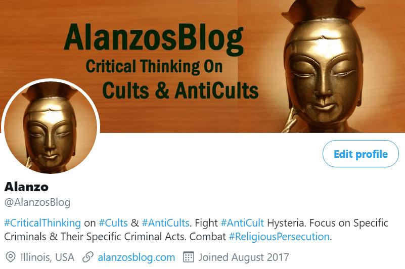 My Present Twitter Profile