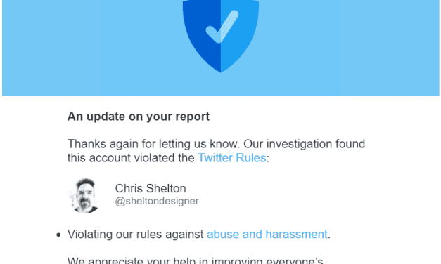 Hysterical & Abusive AntiCultist Suspended From Twitter