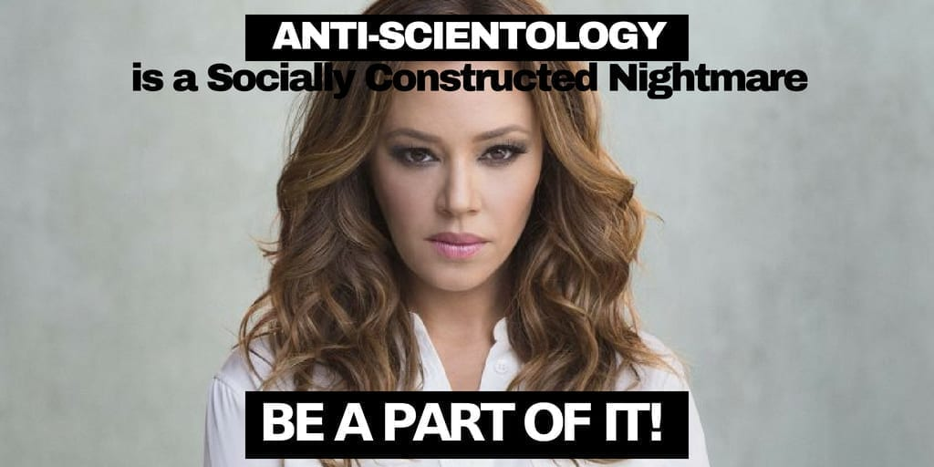 Anti-Scientology is a Socially Constructed Nightmare