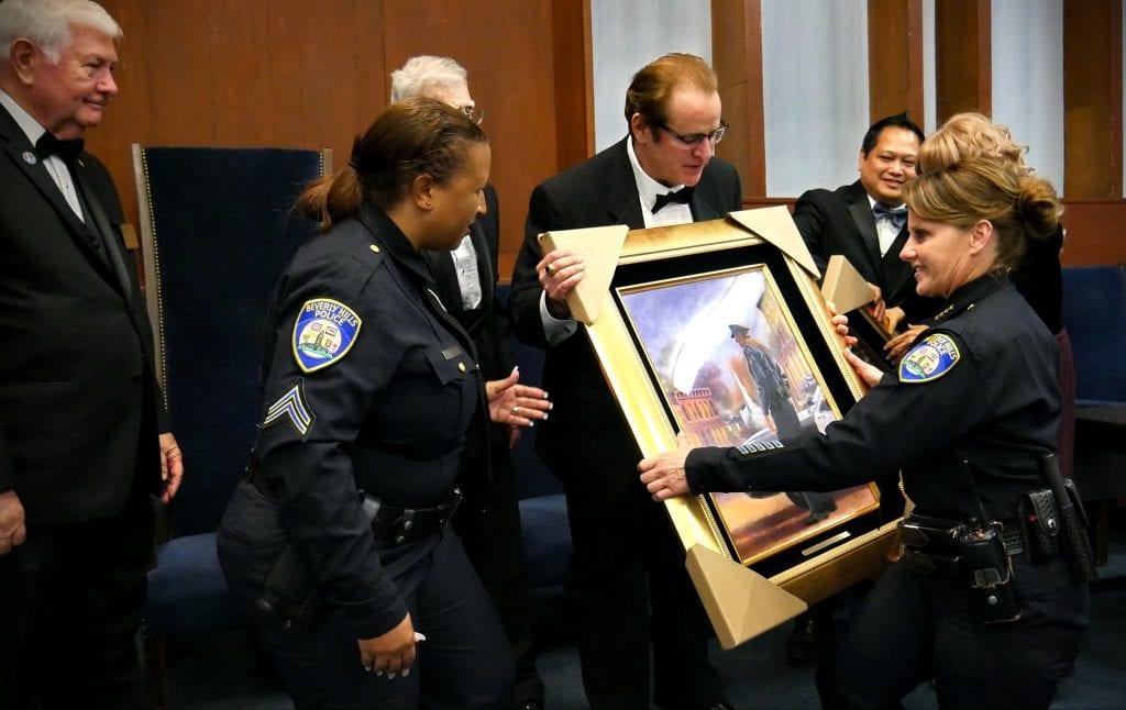 Jeffrey Augustine Karen de la Carriere Attempt to influence LAPD