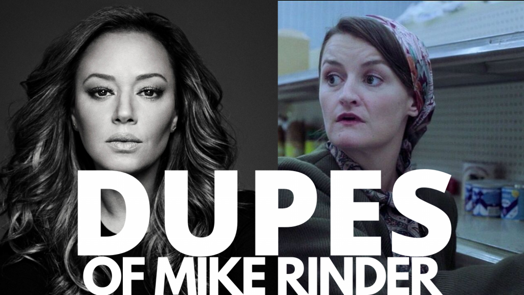 Dupes of Mike Rinder Leah Remini