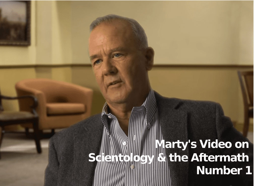 Marty Rathbun's 1st Video Talking About Scientology and the Aftermath