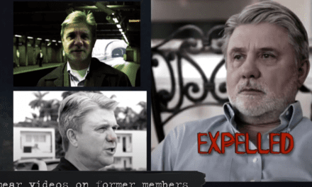 Rinder Releases Video of Scientology Fair Game & He's Not In It