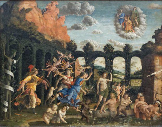 Minerve_chassant_les_Vices_du_jardin_des_Vertus,_Mantegna_(Louvre_INV_371)_02