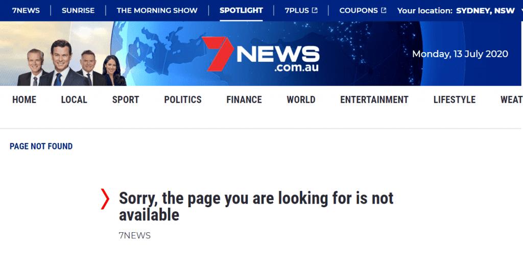 scientology black ops page 404 error