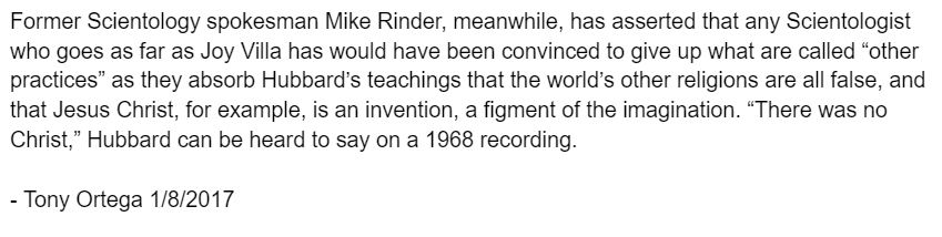 Mike Rinder quote