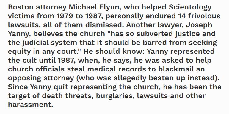 Richard Behar on Michael Flynn Forbes Magazine
