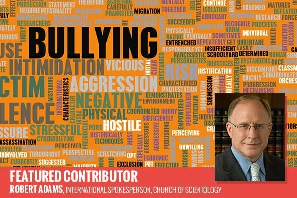 "Bob Adams of the Church of Scientology on ""A Scientology Perspective on Bullying"""