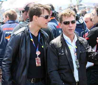 Tom Cruise & David Miscavige 2 Stupid Scientologists