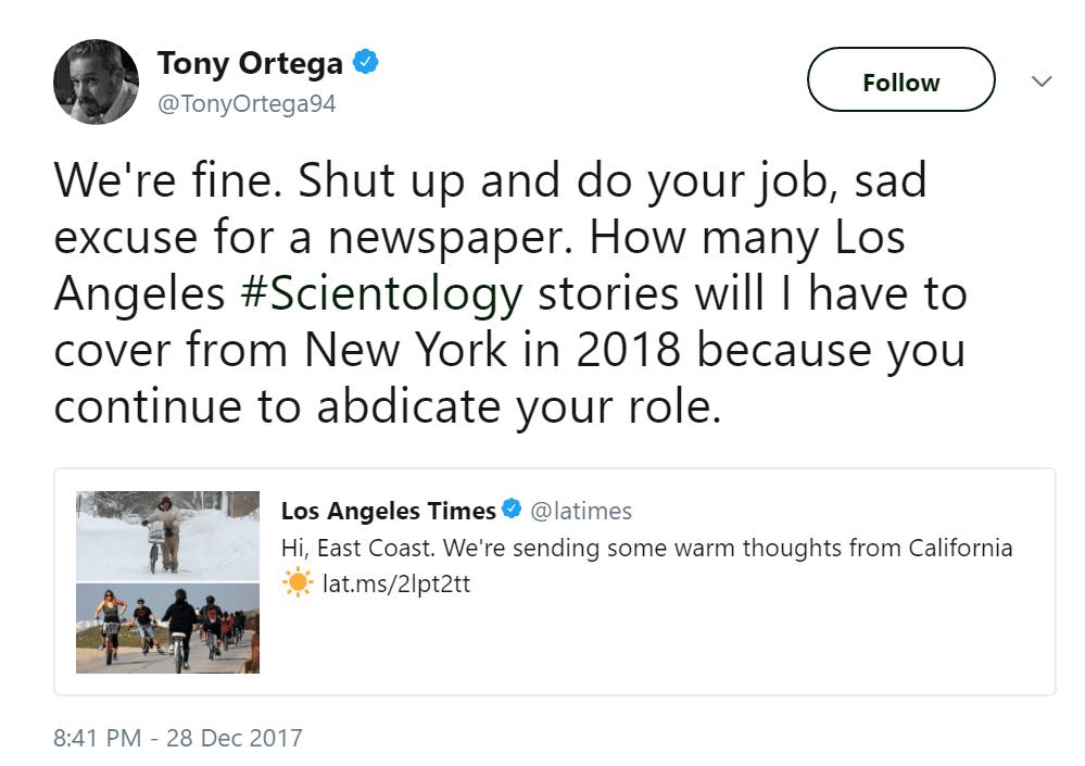 Tony Ortega LA Times