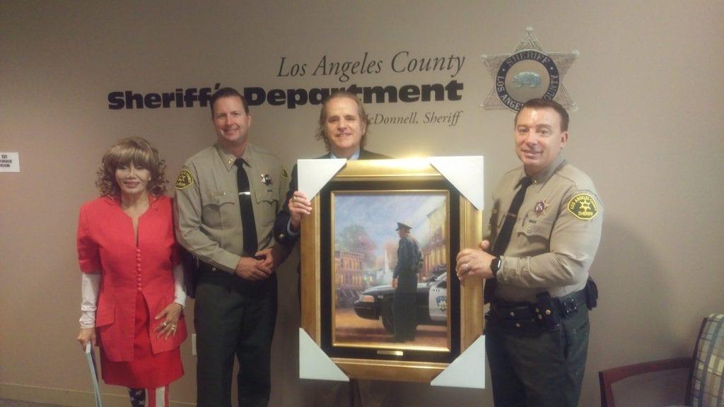 Jeffrey Augustine and Karen de la Carriere attempt to influence LA County Sheriff's Department