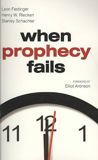 Leon Festinger When Prophecy Fails