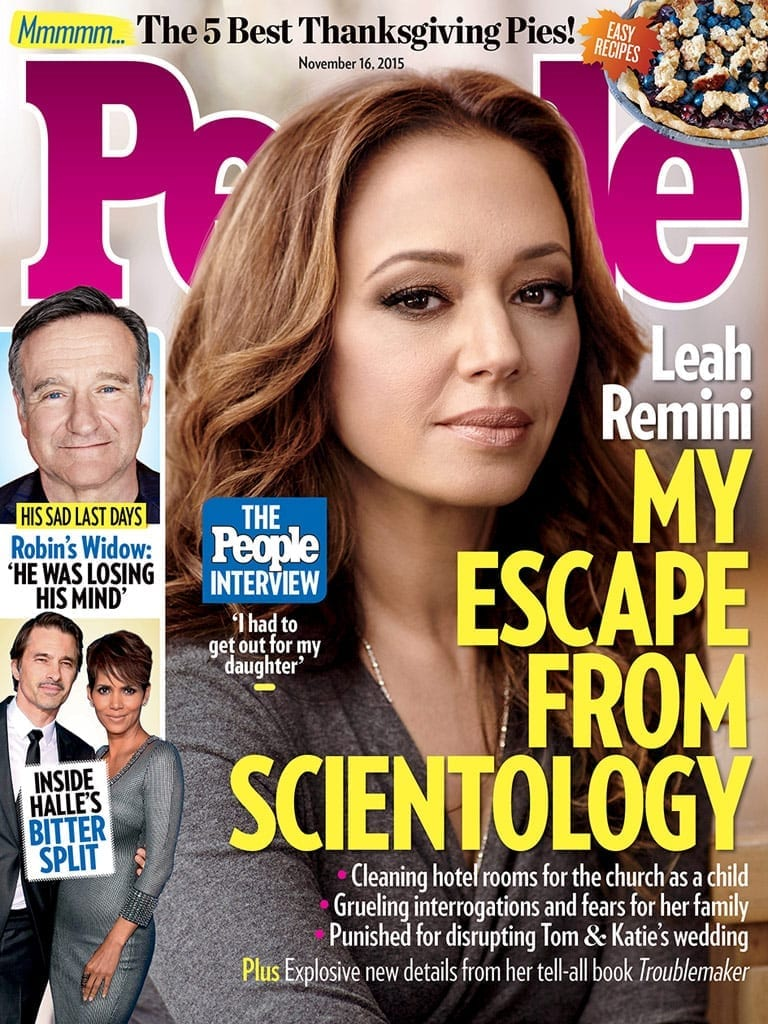 Scientology Finally Makes the Cover of People Magazine!