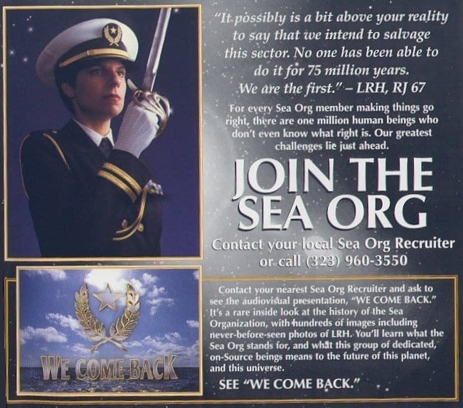 "Is Scientology's Sea Organization Really A ""Clergy""?"