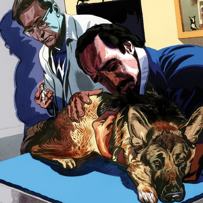 Who Killed Joel Sappell's Dog?