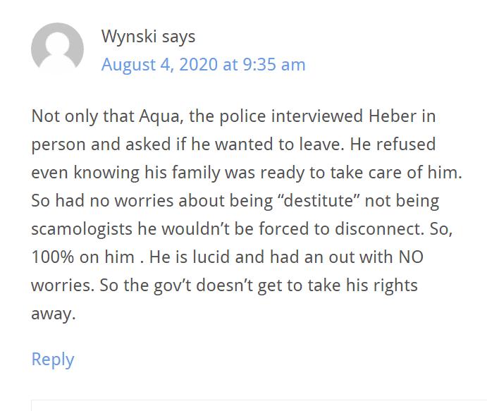 Wynski Questions Scientology FairGame Podcast